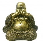 Buddha resin gold statue 10 cm - Not say