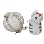 Cat Tea ball - Beige