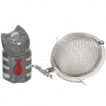 Cat Tea ball - Grey