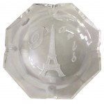 Eiffel Tower Paris Glass Ashtray