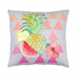 Removable cushion - Coconut Ananas 40 x 40 cm