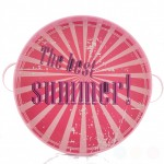 The Best Summer Pink metal tray 31 cm
