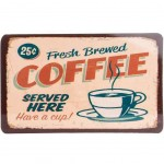 Fresh Brewed Coffee Cutting board 23 x 14 cm