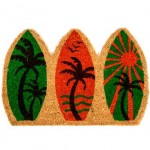 Surf Door Mat - Coconut Fiber