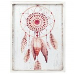 Boho Wooden frame 40 x 30 cm - Dream Catcher