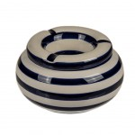 Moroccan Beige ashtray - Navy Blue