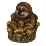 Sloth mom and baby Moneybox