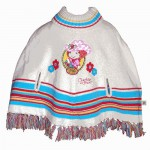 Strawberry Shortcake poncho 2-4 years