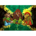 The Three wise Monkeys mouse pad by Cbkreation