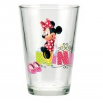 Minnie Mouse fruit juice glasses
