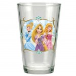 Disney Princess fruit juice glasses