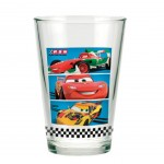 Disney Cars fruit juice glasses