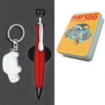 Fiat 500 Pen and keyring box