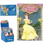 Belle 3D Birthday Card with envelope