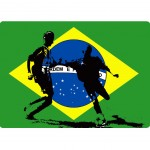 Brasil mouse pad by Cbkreation