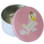 Disney Princess Belle metal box