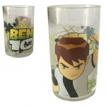 Ben 10 fruit juice Glass