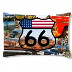 USA rectangulary cushion by CBK