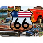 Usa mouse pad by CBK