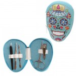 Calavera Blue Beauty Nail Kit