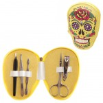Calavera Yellow Beauty Nail Kit