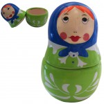 Russian doll figurine jewelry