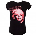 Marilyn Monroe Strass T-shirt Size S