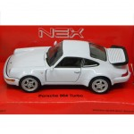 Porsche 964 turbo white