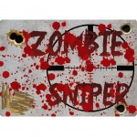 Zombie Sniper mouse pad by Cbkreation