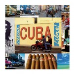 4 Cuba coasters Cbkreation