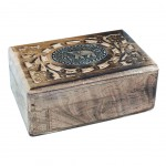 Rectangular carved box - Elephant