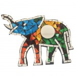 Mirror to hang Mosaics - Elephant