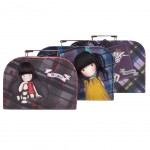 Gorjuss Tartan Suitcase Boxes Set