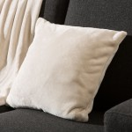 Cushion Cover 40 x 40 cm - Ecru or white