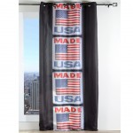 Made USA Semi-Sheer Voile Grommet Panel