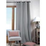 Eyelets Screen Curtain - Grey