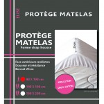 Protects mattress Fleece Cotton 90 x 190 cm