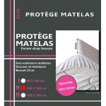 Protects mattress Fleece Cotton 140 x 190 cm