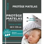 Protects plastic mattress 60 x 120 cm
