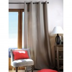 Lin Color Eyelet Curtain 135 x 240 cm