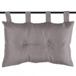 Headrest cushion Grey 45 x 70 cm