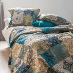 Boutis bedspread and 2 pillowcases - Bastetti
