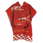 Cars Meter Poncho towels