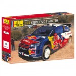 Model to assemble and paint Citroen C4 WRC 10