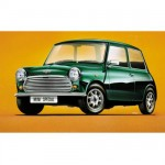 Model to assemble and paint Austin Mini
