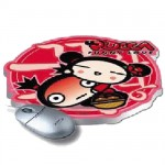 Pucca funny love mouse pad