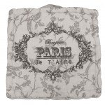 Cotton Floor Cushion Paris je t&#39aime 40 cm