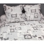 Boutis bedspread and 2 pillowcases - Philippe