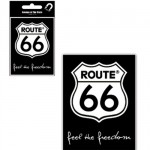 Route 66 metal magnet