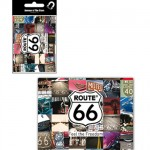 Route 66 Pictures metal magnet